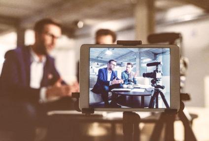 Planung und Produktion professioneller Expertenvideos und Fotos