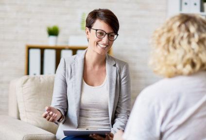 Beim Therapiestart empathische Unterstützung zu Hause