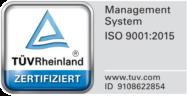 Audimedes - DIN ISO EN 9001 zertifiziertes Managementsystem