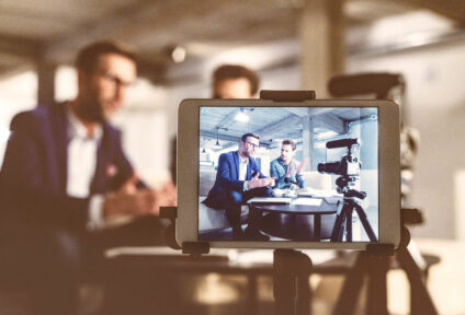 Planning and production of professional expert videos and photos