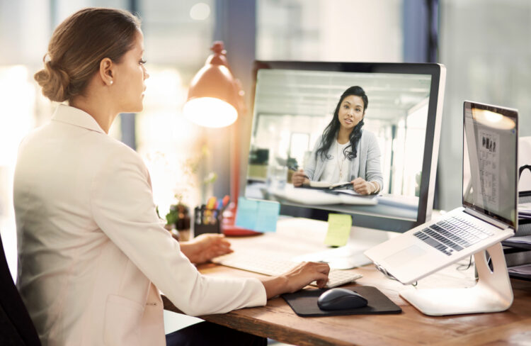 Intensive and individual patient support via video telephony