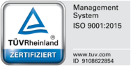 Audimedes - DIN ISO EN 9001 certified management system